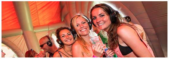 Silent disco (Leitse Disco) Have A Nice Day Festival